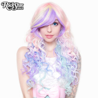 Rockstar Wig 00219 Rainbow Rock Collection Hair Prism 2 front