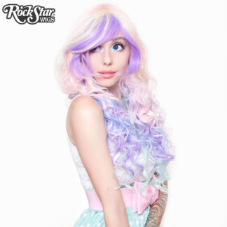 Rockstar Wig 00219 Rainbow Rock Collection Hair Prism 2 Side Angle