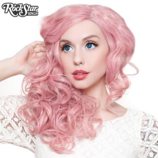 "Lace Front 22"" Cosplay - Milkshake Pink Mix 00250 Front"