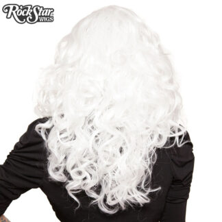 "Lace Front 22"" Cosplay - White 00252 Back Angle"