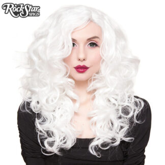 "Lace Front 22"" Cosplay - White 00252 Front"