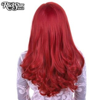 Lace Front Peek-A-Boo - Henna Red 00535 Back Angle