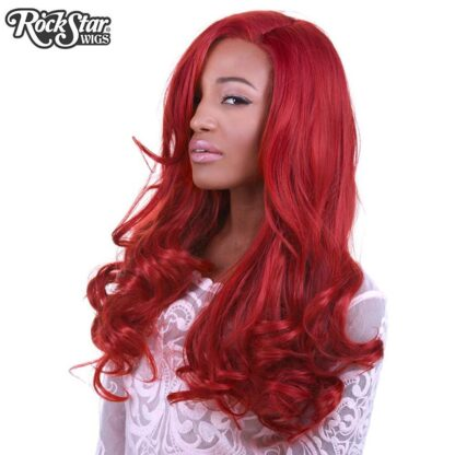 Lace Front Peek-A-Boo - Henna Red 00535 Side Angle