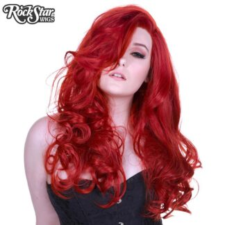Lace Front Peek-A-Boo - Henna Red 00535 Front