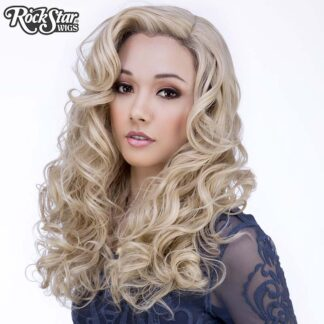 Lace Front Peek-A-Boo - Light Medium Blonde 00536 Front 2
