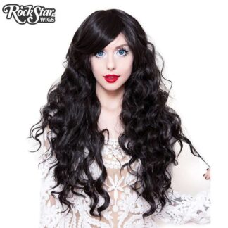 Classic Wavy Lolita Collection - Gypsy Kiss (Black) 00608 Front