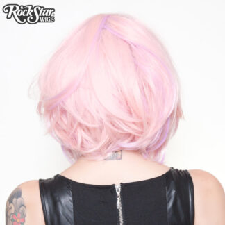 "Hologram 12"" - Powder Pink 00663 Back Angle"
