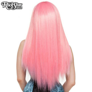 Gothic Lolita Wigs Bella Collection - Bubble Gum Pink (Deep Pink Mix) 00679 Back