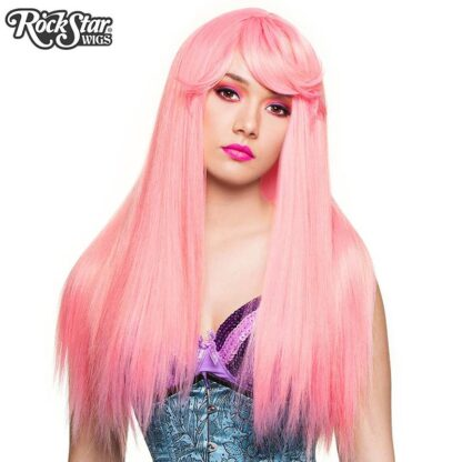 Gothic Lolita Wigs Bella Collection - Bubble Gum Pink (Deep Pink Mix) 00679 Front 2