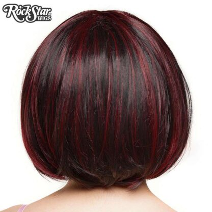 Candy Girl Bob - Black Wine Blend 00687 Back Angle