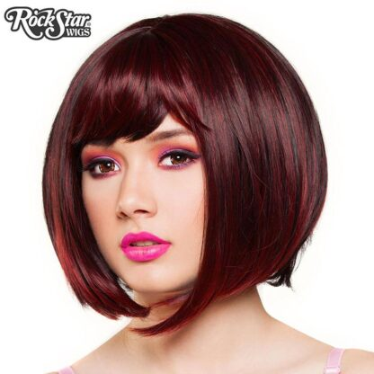 Candy Girl Bob - Black Wine Blend 00687 Side Angle