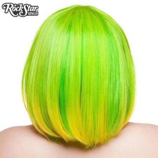 Candy Girl Bob - Lime Green 00691 Back ANgle