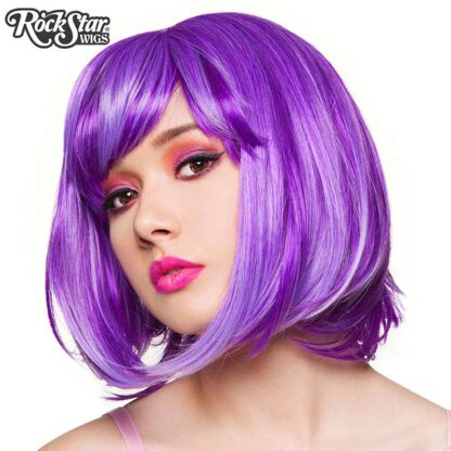 Candy Girl Bob - Purple Blend 00692 Side Angle