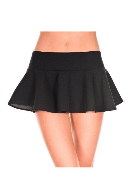 Wavy Skirt Black
