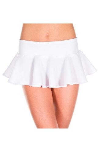Wavy Skirt White
