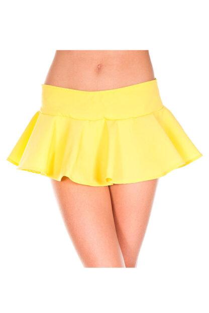 Wavy Skirt Yellow