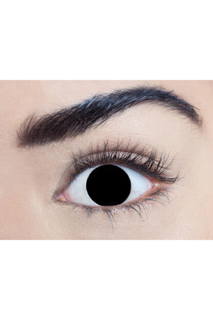 MesmerEyez 1 Day Contact Lenses - Blind Black