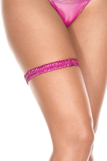 Metallic leg garter 43003 Pink