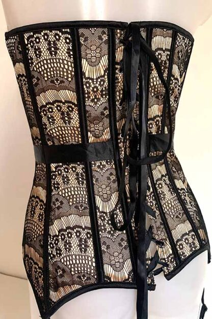 Eiffel Tower Lace Corset Back 2