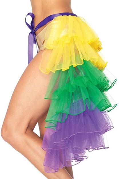 Mardi Gras Bustle Skirt