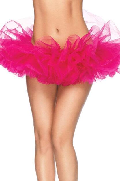 Organza Tutu Skirt Hot Pink Front