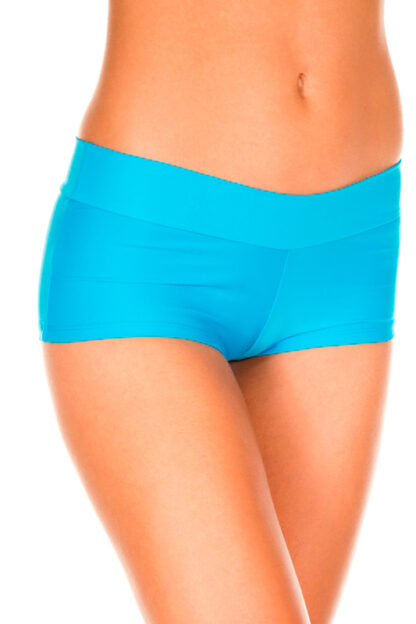 Stretched Booty Shorts - Turquoise