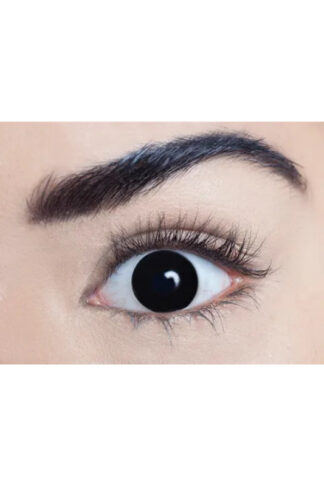 MesmerEyez 3 Month Contact Lenses - Black Out