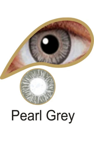 MesmerEyez 3 Month Contact Lenses - Pearl Grey