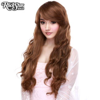Gothic Lolita Wigs Classic Wavy Lolita Collection - Dark Brown Mix Front