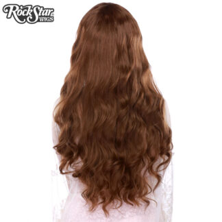 Gothic Lolita Wigs Classic Wavy Lolita Collection - Dark Brown Mix back