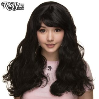 Gothic Lolita Wigs Heartbreaker Collection - Black Front