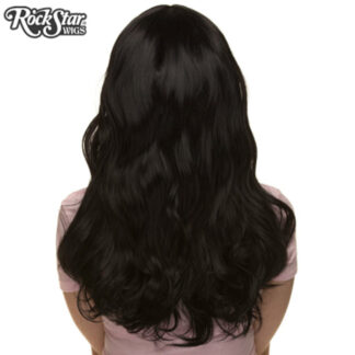 Gothic Lolita Wigs Heartbreaker Collection - Black Back