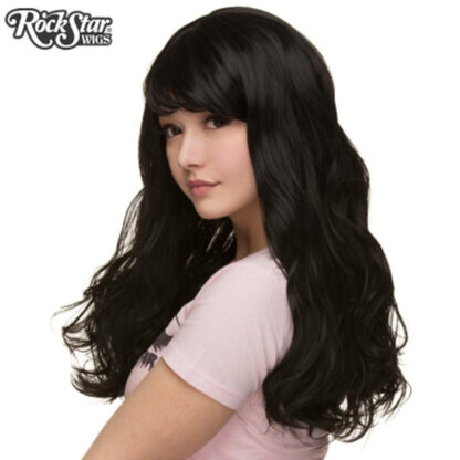 Gothic Lolita Wigs Heartbreaker Collection - Black Side