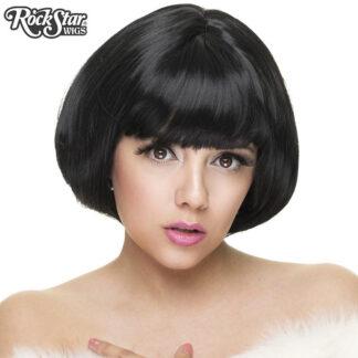 Gothic Lolita Wigs Lolibob Bob Wig - Black RSW00382 Front