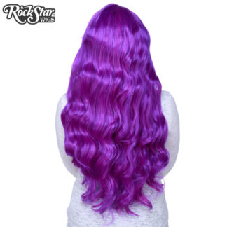 Gothic Lolita Wigs Classic Wavy Lolita Collection - Purple Mix Back