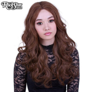 Lace Front Royale - Chestnut Brown Mix Front 2