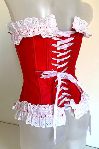 Rose's Satin Corset Back
