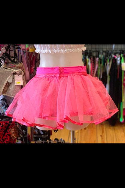 Siren Doll Original Tutu Petticoat Skirt Pink Back
