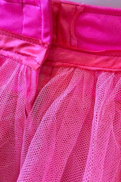 Siren Doll Original Tutu Petticoat Skirt Pink Hock