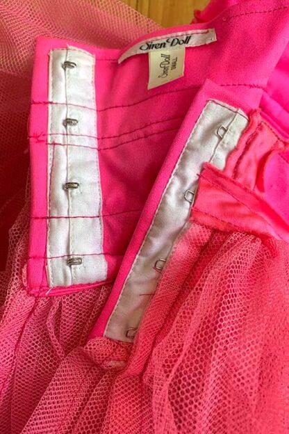 Siren Doll Original Tutu Petticoat Skirt Pink hock2