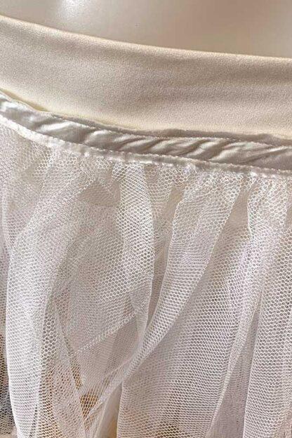 Siren Doll Original Tutu Petticoat Skirt White close