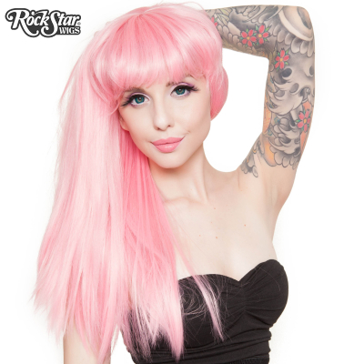 Pin Up Straight Pink 2