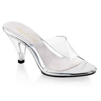 "Fubulicious 3"" Belle 301 Slip On Clear Shoes"