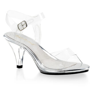 "Fubulicious 3"" Belle 308 Sandal Clear Shoes"