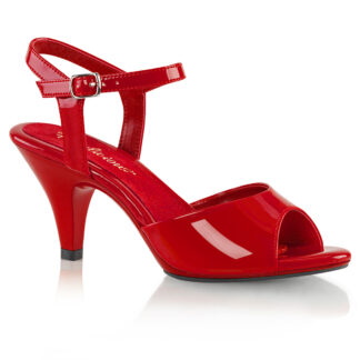 "Fabulicious 3"" Belle 309 Sandal Patent Red"