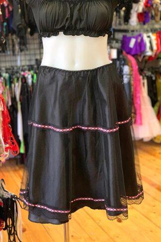 Below the Knee Petticoat Skirt Front