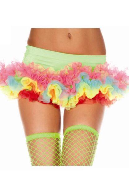 Soft Tulle Rainbow Petticoat Skirt