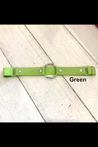 oring 2way garter-green front