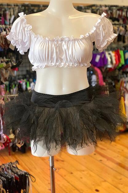 Tulle Tutu Skirt - Black Front2
