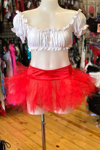 Tulle Tutu Skirt - Red Front